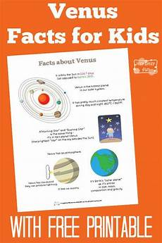 venus planet worksheet venus facts for space planets and going