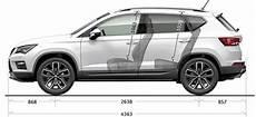 seat ateca side dimensions suv car comfortable living