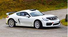 porsche gt 4 porsche cayman gt4 clubsport rally car surprises everyone
