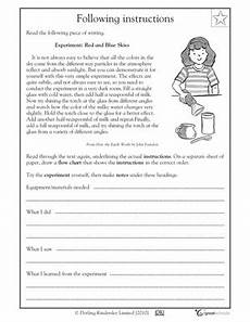 following directions worksheets second grade 11769 6 best images of proofreading passage worksheets following directions worksheets 5th grade