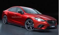 Mazda6 Mps Performance Sedan Rendered Based On Facelift