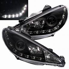 206 206cc 1998 2002 real drl projector led r8look