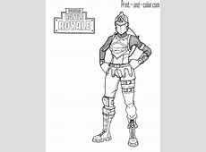 Fortnite Coloring Pages   Print And Color   Colin's