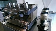la cimbali m 28 selectron espresso machine with grinder