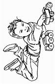 46 Little Boy Coloring Pages Free Of 10