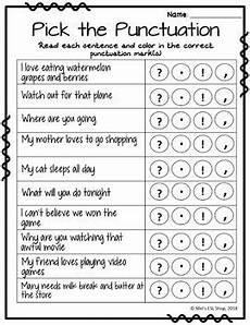 punctuation worksheets esl 20697 esl punctuation posters flashcards worksheets activities tpt