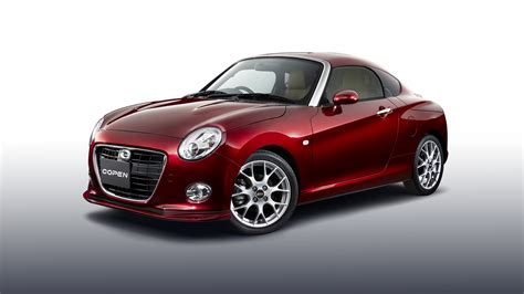 Full Hd Wallpaper Daihatsu Copen Coupe Red, Desktop
