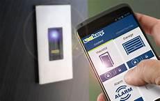 apertura porta impronta digitale new ekey finger scanner integra 2 0 t bluetooth sos