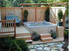 34 perfect outdoor hot tub privacy ideas decorewarding