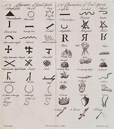 characters of and evil spirits ancient symbols