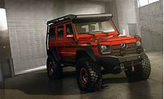 mercedes g offroad this mercedes g class wouldn t look out of place in batcave carscoops