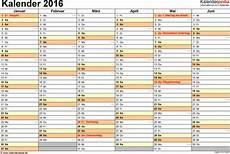 kalender 2016 in word zum ausdrucken 16 kostenlose