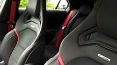 der neue mercedes a45 amg innenraum performance sitze