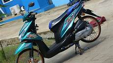Modifikasi Motor Beat Babylook by Modifikasi Honda Beat Fi Ring17 Babylook
