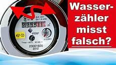wasserzähler eichung ablesen z 228 hlt mein wasserz 228 hler falsch