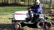 Tracteur Tondeuse Modifi 233 224 Chenille Franchissement