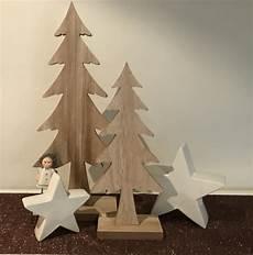 Deko Tannenbaum Holz - xl design deko holz weihnachtsbaum tannenbaum 39 55cm holz