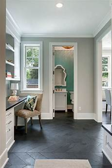 the herringbone design in the mudroom and pocket office are montauk slate 4 x 16 description