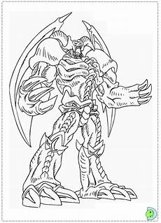 yu gi oh coloring page dinokids org