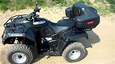 atv kymco mxu 300r schwarz 20 april 2011