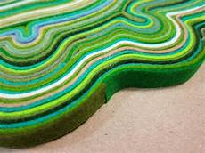 tappeti in feltro diy creative unique carpet made of felt scraps