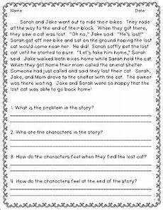 pqa and constructed response reading comprehension worksheets 2nd grade reading reading