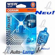 osram w5w halogen cool blue standlicht 2er set