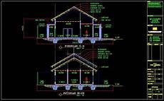Desain Atap Rumah 2018 Desain Atap Rumah Dwg