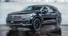 abt vw touareg unveiled with more power new wheels