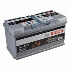 batterie 95 ah bosch s5 a13 agm r vrla start stop starterbatterie 95ah