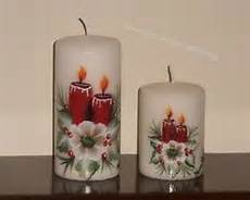decoupage candele painted candles using acrylic paint candles