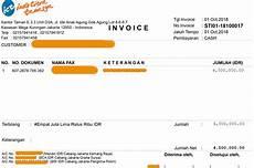 begini contoh invoice tagihan perusahaan dan fungsinya