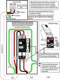 gfi breaker wire diagram tub gfi breaker tripping electrical diy chatroom home improvement forum