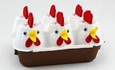 Basteln Zu Ostern Osternest Aus Eierkarton Ostern