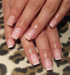 white french tip nails nail art styling