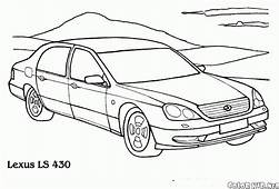 Coloring Page  Lexus For Comfort