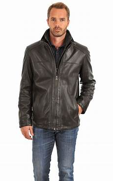 veste homme 3 4 veste cuir homme milestone la canadienne veste 3 4