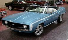 exle of glacier blue paint a 1969 gm camaro chevy camaro convertible muscle cars 1969