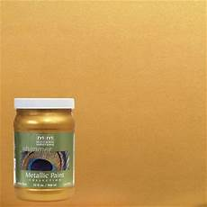 modern masters 1 qt pharaoh s gold metallic interior exterior paint me66032 the home depot