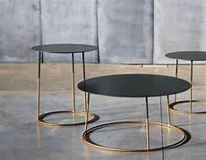 table basse metal la table basse m 233 tal atole gold 80 cm une table basse