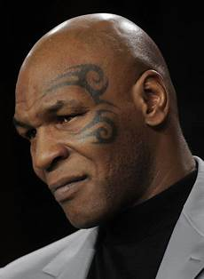 here s the reason behind mike tyson s face tattoo ladbible