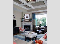 Grey Living Room Design Ideas, Renovations & Photos with a