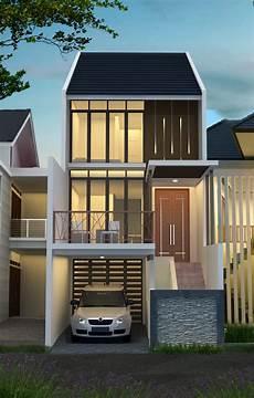 Desain Rumah 5 X 20 M2 Minimalis Tiga Lantai Desain
