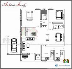 3 bedroom house plans in kerala low cost 3 bedroom kerala house plan with elevation free