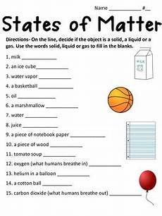 science worksheets on matter 12327 states of matter worksheet by math and science lover tpt