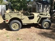 Cars  1941 Willys MB Slat Grill Jeep