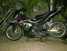 Modifikasi Motor Sonic by Modifikasi Honda Sonic 150 Jari Jari 4 Neoriders