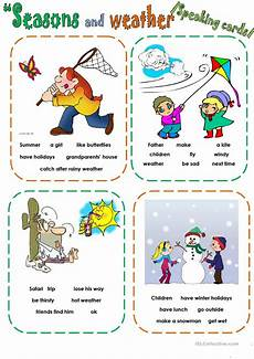 weather worksheets esl adults 14493 weather speaking cards esl worksheets for distance learning and physical classrooms