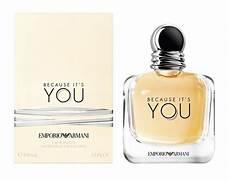 emporio armani because it s you giorgio armani parfum