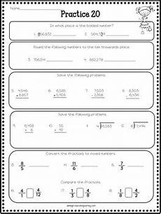 geometry review worksheets with answers 878 4th grade math review spiral review worksheets by ashleigh tpt